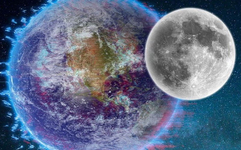 Terre Lune Espace