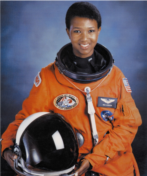 https://commons.wikimedia.org/wiki/File:Dr._Mae_C._Jemison,_First_African-American_Woman_in_Space_-_GPN-2004-00020.jpg